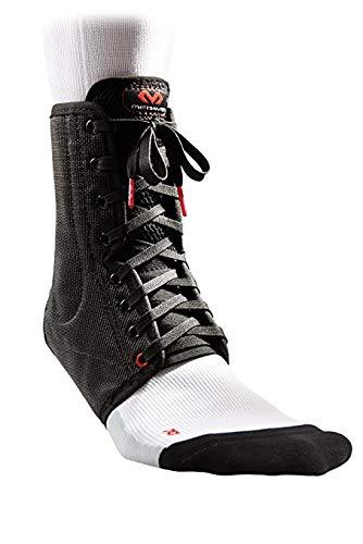 McDavid 199 Lightweight Laced Ankle Brace, Black, X-Small