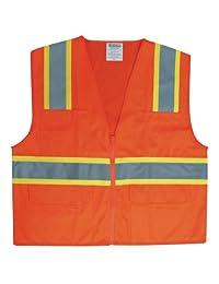 Graintex Class 2 Safety Vest, 4X-Large, Orange