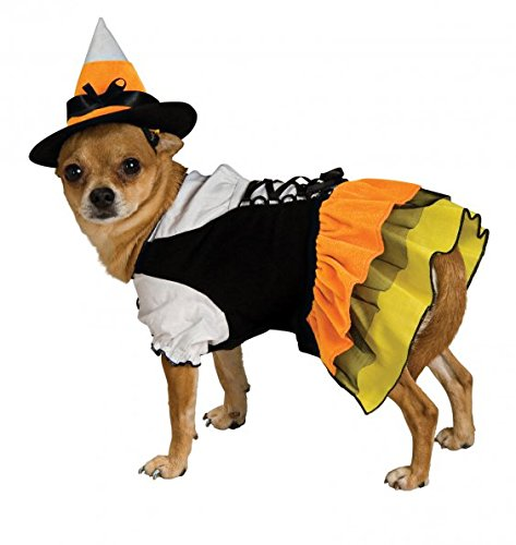 S Rubies Costume Co Rubies Candy Witch Pet Costume, Small