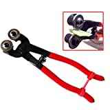 Mosaic round pliers DIY tool special round glass tile mosaic scissors cutting pliers