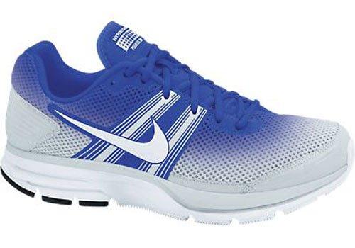 Nike Air Pegasus + 29 Respirer Bleu / Blanc Chaussures De Course Pour Homme Ivoire / Gris Clair Pâle