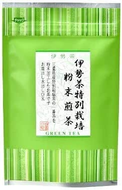 特別栽培無農薬粉末煎茶40g(特別栽培茶/無農薬茶/煎茶/水出し/お茶/緑茶)