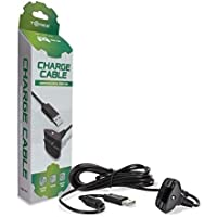 Tomee Controller Charge Cable - Black for Microsoft Xbox 360