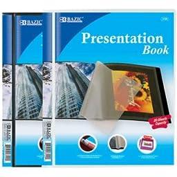 Bazic 10-Pockets Presentation Book 24 pcs sku# 313204MA