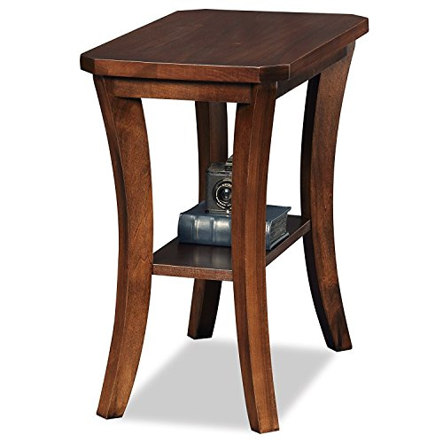 - Indoor Multi-function Accent table Study Computer Desk Bedroom Living Room Modern Style End Table Sofa Side Table Coffee Table Solid Wood Side Table