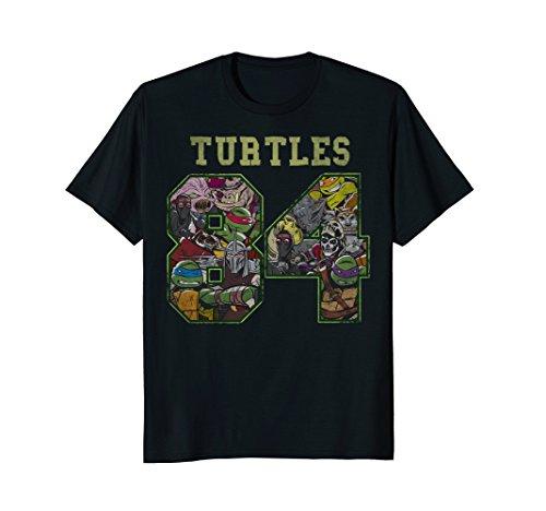 Teenage Mutant Ninja Turtles 1984 Jersey Style T-Shirt]()