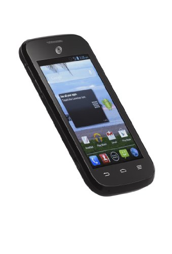 Net10 ZTE Savvy Z750C 3G Android Prepaid Smartphone - Retail Packaging