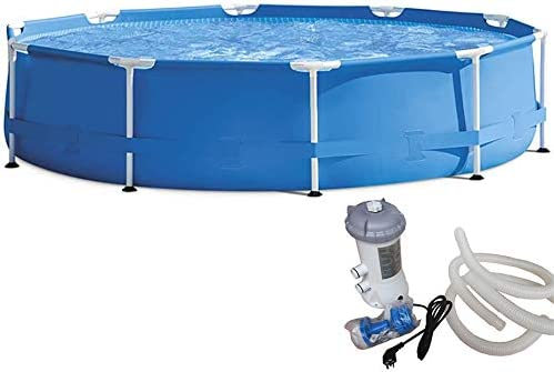 QQLK Frame Pool Redonda Piscina Desmontable Tubular 305 X 76 Cm ...