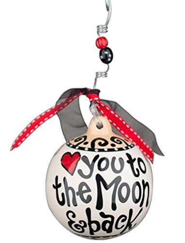 Glory Haus To The Moon And Back Ball Ornament