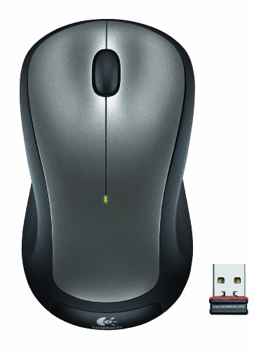 - Logitech M310 Wireless Mouse - Laser - Radio Frequency - Silver - USB - 1000 dpi - Scroll Wheel - 3 Button(s) - Symmetrical . . . (154742)