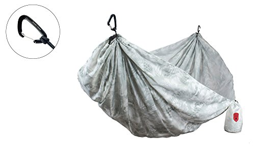 Grand Trunk Kryptek Camouflage Double Hammock: Portable with Carabiners: Perfect for Camping, Hiking, Hunting, Or Any Outdoor Adventure, - Camouflage Sleeper