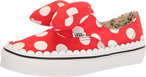 Vans Authentic Gore Disney Minnie's Bow Skate Shoes Size 3 Little Kid -