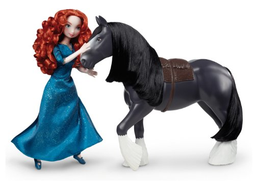 Disney/Pixar Brave Merida & Angus Giftset ()