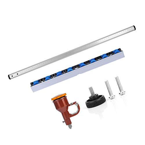 T Type Push Glass Cutter Kit 60cm Length T Type Glass Strip Cutter Automatic Oil Injection Ceramic Tile Vitrified Brick Cutting Tool