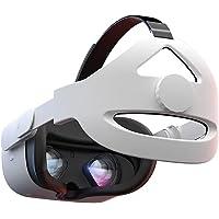 Alça de cabeça ajustável para Oculus Quest 2 VR Headset, suporte aprimorado e conforto em jogos VR