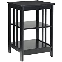 Convenience Concepts Mission End Table , Black