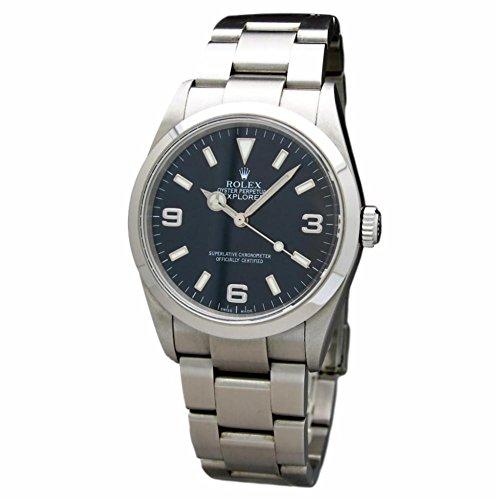 Rolex Explorer (Rolex Explorer Swiss-Automatic Male Watch 114270 (Certified Pre-Owned))