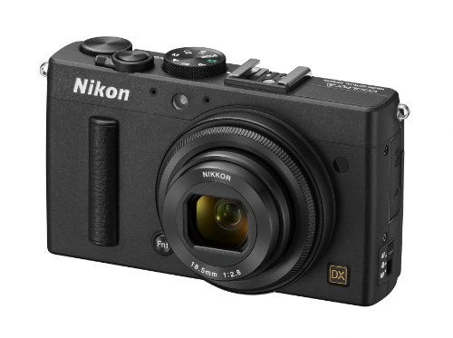 Nikon COOLPIX A 16.2 MP Digital Camera with 28mm f/2.8 Lens (Black) (Discontinued by Manufacturer)