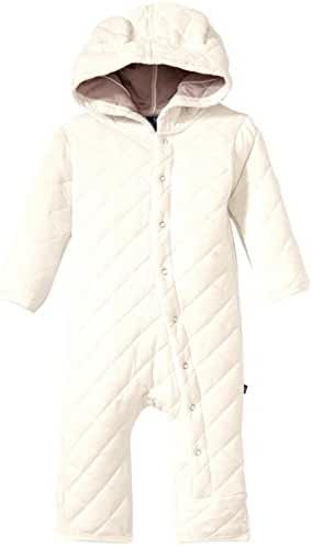 KicKee Pants Quilted Hoodie Coverall w/Ears (Baby)