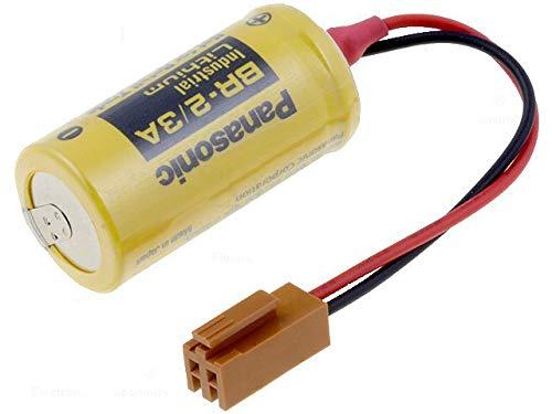 Batería de litio Panasonic BR-2 / 3A 3V para PLC Industrial