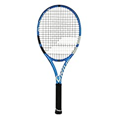 The new for 2018 Babolat Pure Drive. Featuring SMAC visco-elastic material integrated into the frame for soft and comfortable play. Featuring a change in string spacing (FSI Technology) and different shape grommets to give extra power and mor...