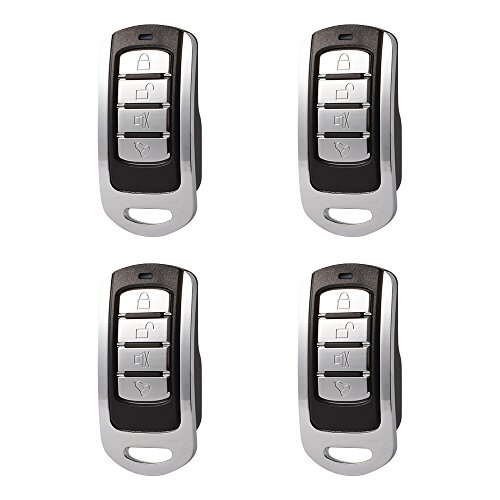 XCSOURCE 4Pcs 868Mhz Cloning Remote Control Key Copy Cloning Duplicator Opener Fob for Electric Gate Garage Door (Electric Sunroof)