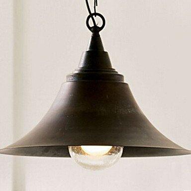 GD lámpara de techo colgante, 1 luz, americano bar de estilo ...