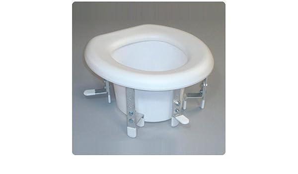 Awe Inspiring Amazon Com 5 Bracket Raised Toilet Seat Raised Toilet Machost Co Dining Chair Design Ideas Machostcouk