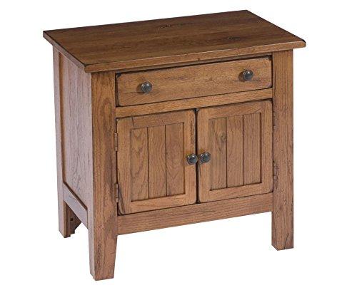 Broyhill Attic Heirlooms Door Night Stand, Brown