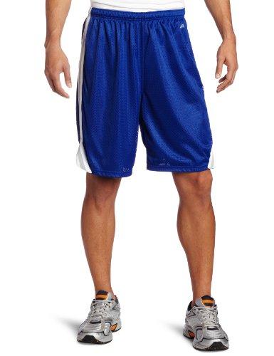Soffe Men's Lacrosse Short Royal/Silver (Mens Lacrosse Shorts)
