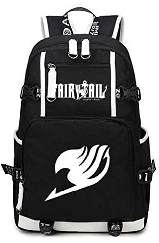 4fcb0f33ced2 YOYOSHome Anime Fairy Tail Cosplay College Bag Daypack Bookbag Backpack  School Bag