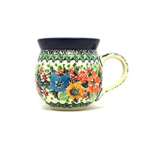Polish Pottery Mug – 11 oz. Bubble – Unikat Signature U3347