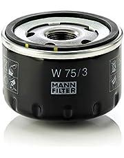 Mann Filter W 75/3 Filtro de Aceite, para automóviles y vehículos de Utilidad