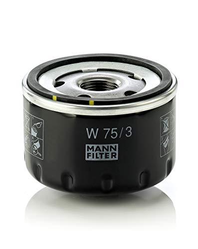 Mann Filter W 75/3 Filtro de Aceite, para automoviles y vehiculos de Utilidad