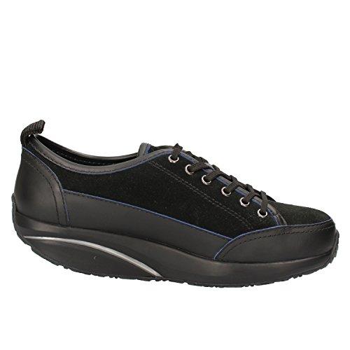 Suede MBT 37 6 Woman US Sneakers Black Leather Fashion EU 5 TwqTnUzf