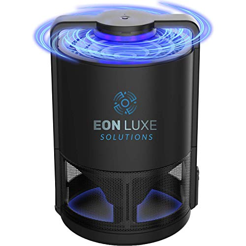 Eon Luxe Solutions Indoor Mosquito Killer & Fruit Fly Trap – NO ZAPPING NONTOXIC – Also Catches Fungus Gnats, Drain…