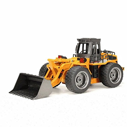 HuiNa Toys1520 Six Channel 1/14RC Metal Bulldozer Charging RC Car