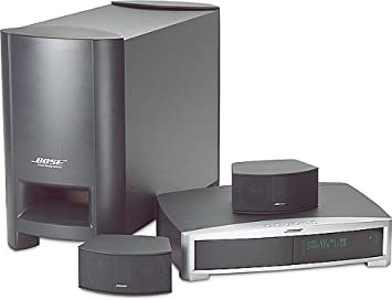 bose gs series ii. bose(r) 321 gs series ii dvd home entertainment system - graphite bose gs ii