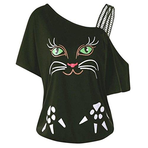 Verde spalline donna senza forti Maglietta Abbigliamento Ciciyoner Uomo Taglie Txwg8qpB