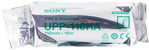 Sony UPP-110HA Thermal Print media 10 rolls 110mmx 18m