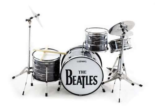 (Ringo Starr Beatles Miniature Drum Set)
