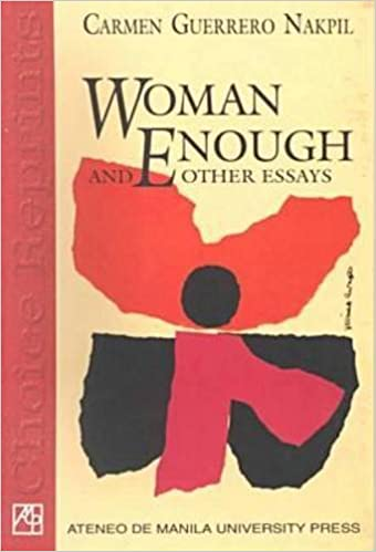 w enough and other essays carmen guerrero nakpil  w enough and other essays carmen guerrero nakpil 9789715503280 com books