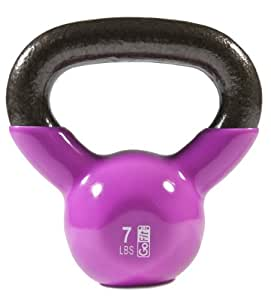 Amazon.com : Premium Vinyl Dipped Kettle Bell With ...