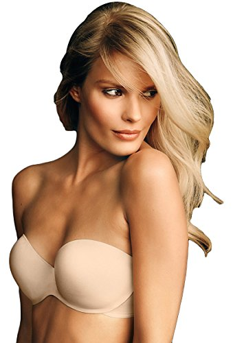 Maidenform Live in Luxe Extra Coverage Strapless Multiway Bra_Latte Lift_40D