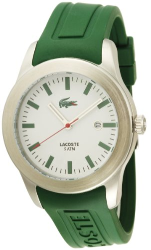 - Lacoste Men's 2010412 Advantage Green Rubber Watch