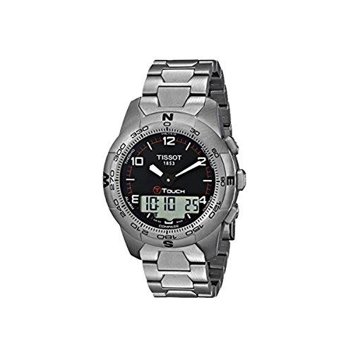 Tissot T-Touch II Altimeter/Compass Black Dial Men's Watch #T047.420.44.057.00 (Tissot Watches Altimeter)