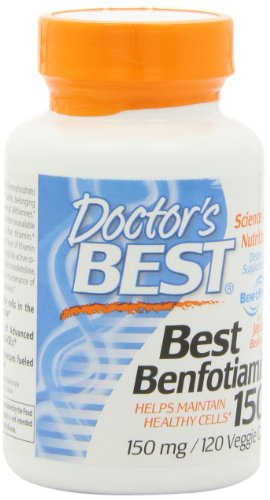 Doctor's Best Benfotiamine (150 mg), Vegetable Capsules, 120-Count, Health Care Stuffs
