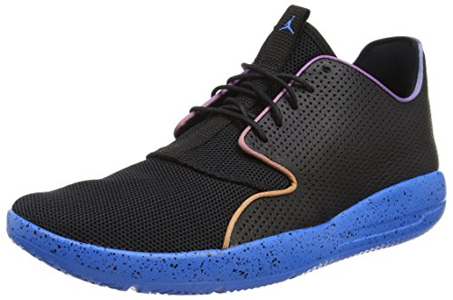 Nike Jordan Mens Jordan Eclipse Black/Pht Bl/Fr Pnk/Atmc Orng Running Shoe 11.5 Men (Black Eclipse Casual Shoes)