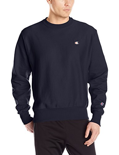 Champion LIFE Men's Reverse Weave Sweatshirt, Navy, Large by Champion LIFE