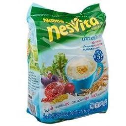 Nesvita original mix fiber 364 g. (26g.x14 Sachets /Pack) Product of Thailand by Nesvita